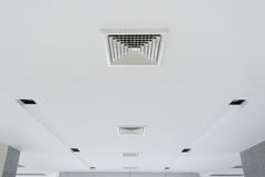 Ceiling ventilation of air condition Stock Images