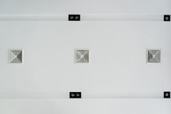 Ceiling ventilation of air condition Stock Photos