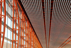 Ceiling and wall structure royalty free stock images