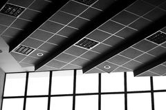 Ceiling and windows Stock Photography