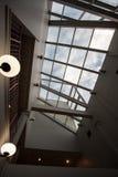 Ceiling Windows Stock Photo