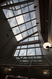 Ceiling Windows Royalty Free Stock Photography