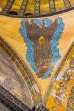Ceiling wings in Hagia Sophia Istanbul Stock Images