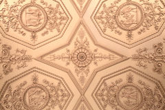 Ceiling of the Winter palace. In Saint Petersburg, Russia royalty free stock photography