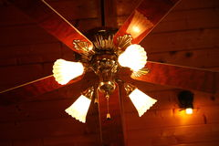Ceiling wood fan Royalty Free Stock Photos
