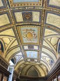 Ceilings Art in the Vatican Museum Royalty Free Stock Image
