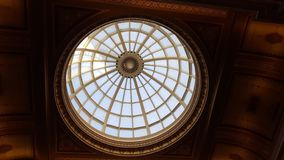 Ceilings at National Gallery. In London, UK royalty free stock photography