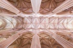 Ceilling im Kloster von Batalha Lizenzfreie Stockfotos
