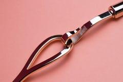 ceinture d'or en forme de crochet en tant qu'élément baroque du habillage photos libres de droits