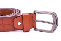 Ceinture de Brown Photo stock