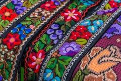 Ceinture et broderie pour le vieux costume folklorique roumain traditionnel Photos libres de droits