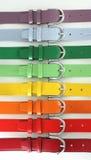 Ceintures multicolores Photo stock