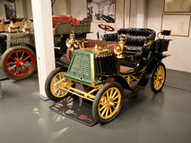 Ceirano Umb. 5 HP bei Museo Nazionale dell'Automobile Lizenzfreie Stockfotos