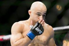 Cejudo vs Moraes at UFC 238 stock photography