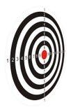Cel dla gry w strzałki 2 Zdjęcie Royalty Free