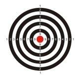 Cel dla gry w strzałki royalty ilustracja