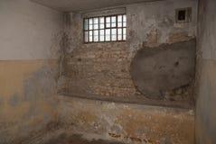 Cel in een stasigevangenis stock afbeelding