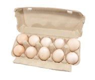 Cel met eieren Stock Afbeeldingen