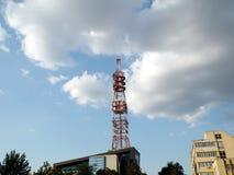 Cel mobiele toren Stock Afbeelding