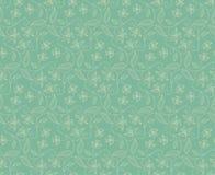 Celadon флористического орнамента Стоковое Изображение RF