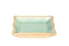 Celadon ceramic dishes Royalty Free Stock Photo