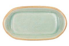 Celadon ceramic dishes Royalty Free Stock Photos