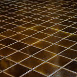 Celadon ceramic tile floor Stock Photos