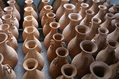Celadon in Yue-Brennofen stockfotos