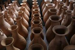 Celadon in Yue-Brennofen stockfoto