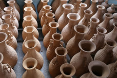 Celadon in yue kiln Stock Photos