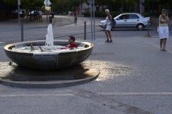 Celakovice,捷克, 2015年8月6日, m社论照片  免版税库存图片