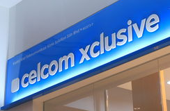 Celcom Malaysia Fotografering för Bildbyråer