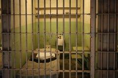 Celda de prisión de Alcatraz Imagen de archivo libre de regalías