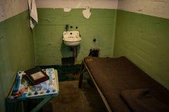 Celda de prisión de Alcatraz Imagenes de archivo