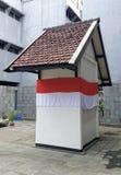 Celda de prisión de presidente Sukarno en Bandung, Indonesia imagen de archivo
