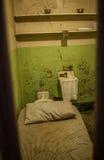 Celda de prisión de San Francisco Alcatraz Foto de archivo libre de regalías