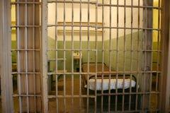 Celda de prisión en Alcatraz Fotografía de archivo