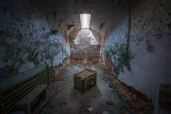 Celda de prisión espeluznante Fotos de archivo libres de regalías