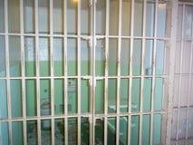 Celda de prisión federal de Alcatraz, isla de Alcatraz, San Francisco, California, los E.E.U.U. imagen de archivo