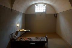 Celda de prisión para los presos políticos en Peter y Paul Fortress Foto de archivo