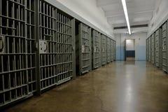 Celda de prisión, prisión, aplicación de ley Foto de archivo