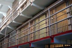 Celdas de prisión Foto de archivo libre de regalías