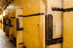 Celdas de prisión Imágenes de archivo libres de regalías