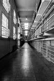 Celdas de prisión de Alcatraz Fotos de archivo libres de regalías