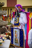 Celebation Raymi Inti σε Riobamba, Ισημερινός Στοκ Εικόνες