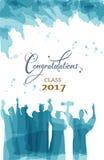 Celeberation da graduação ilustração stock