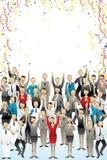Celebração Fotos de Stock Royalty Free