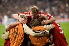 Celebração 2 do objetivo de Liverpool Fotos de Stock