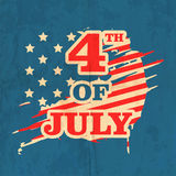 Celebração americana do Dia da Independência Fotos de Stock