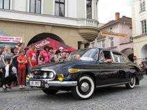 Celebração anual do modelo 1968 de Novy Jicin - de Tatra 603 (2-603) imagens de stock